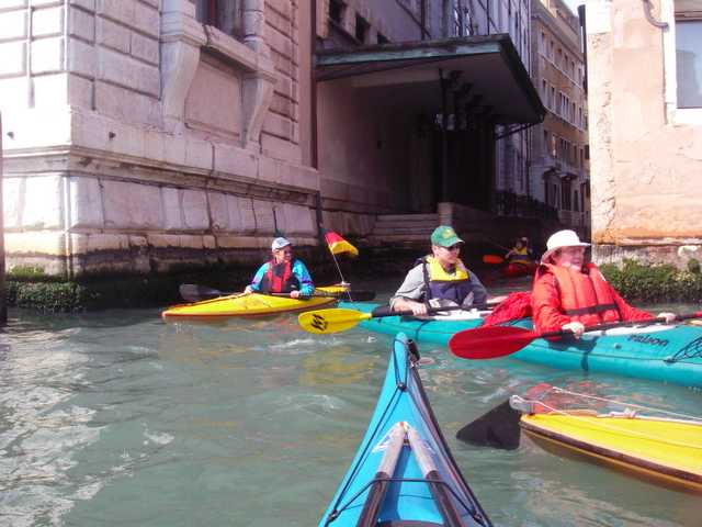 in den Kanälen von Venedig