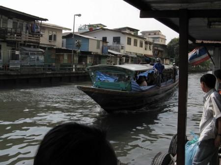 Schnellboot im Klong