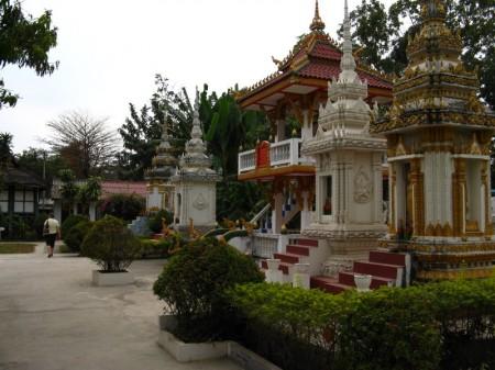 Tempel im Wat