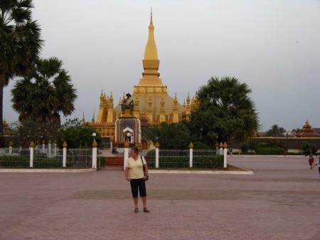 Tempel auf dem höchsten Punkt der Hauptstadt