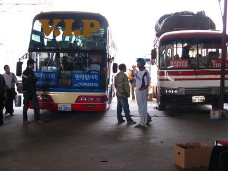 der VIP-Bus nach Luang Prabang