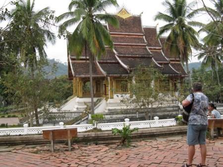 alter Tempel in Luang Prabang
