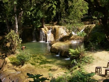 Wasserfall Tad Se