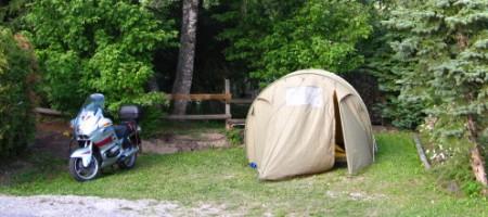 Campingplatz bei La Clusaz