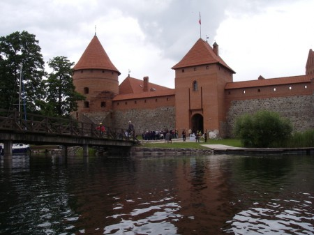 die Burg Trakai