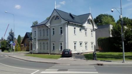 eines der schönen alten Hotels