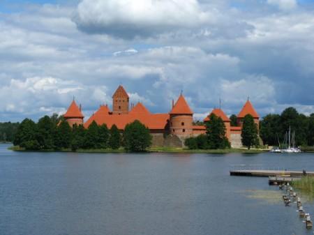 die Burg von Trakai
