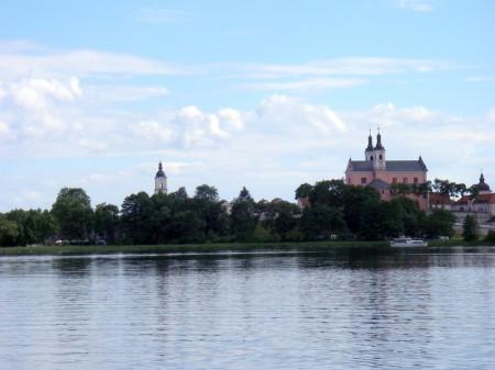 das Kloster ist immer aus einer anderen Perspektive zu sehen